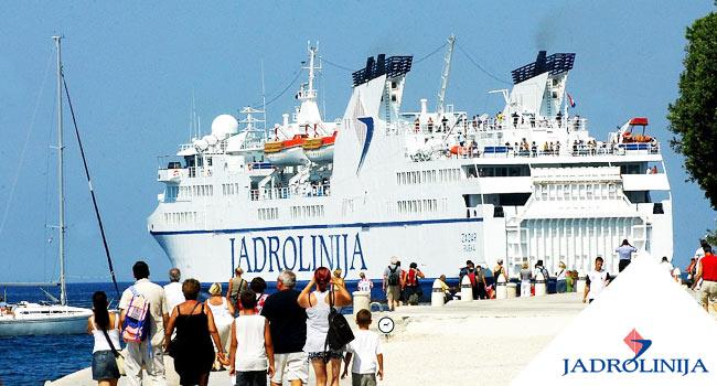 Jadrolinia croazia zadar preko traghetto